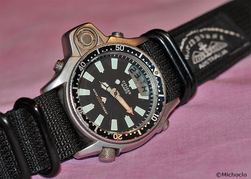 Citizen jp 1010 00e chez la Royal Australian Navy  Aqualand